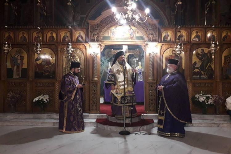Προηγιασμένη Θεία Λειτουργία στον Άγιο Θεόδωρο Αρτεσιανού