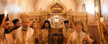 Κυριακή της Ορθοδοξίας στο Οικουμενικό Πατριαρχείο (ΦΩΤΟ)