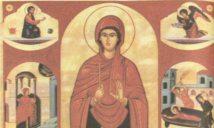 Αγία Πολυχρονία: Η μητέρα του Αγίου Γεωργίου