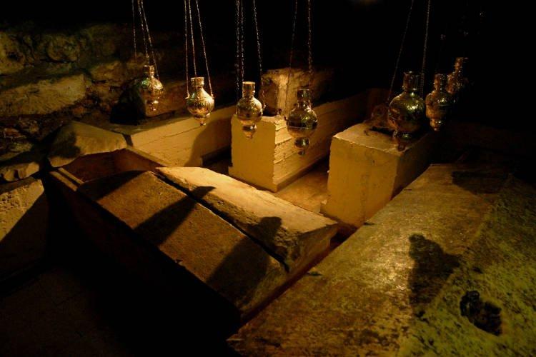 Ο Τάφος του Αγίου Λαζάρου του Τετραήμερου στη Λάρνακα