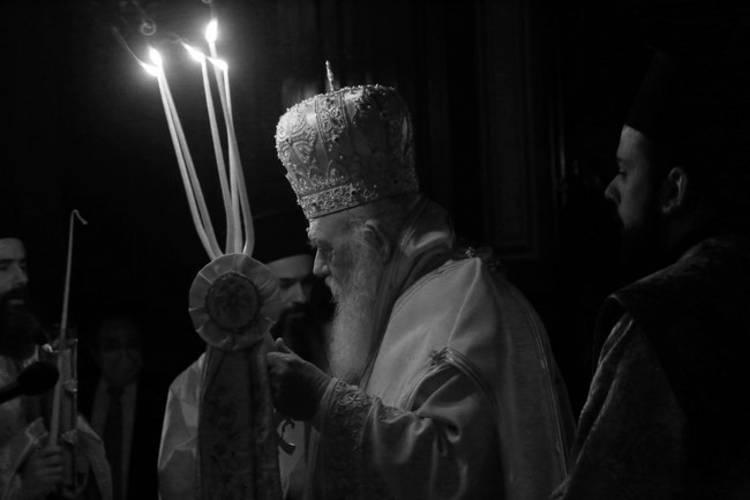 Αρχιεπίσκοπος Ιερώνυμος: Τίποτε δε μπορεί να μας φοβίσει