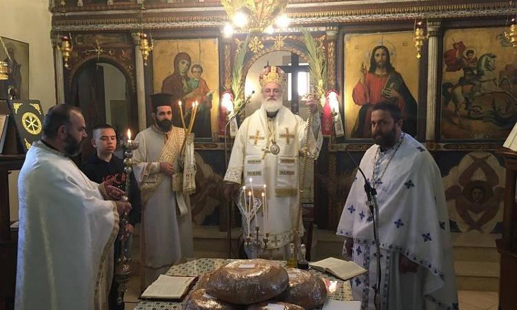 Εορτή του Αγίου Γεωργίου στη Μητρόπολη Αρκαλοχωρίου