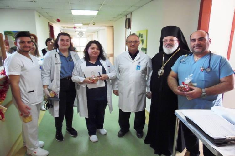 Ο Μητροπολίτης Διδυμοτείχου καταθέτει ένα μισθό του στο Νοσοκομείο Διδυμοτείχου