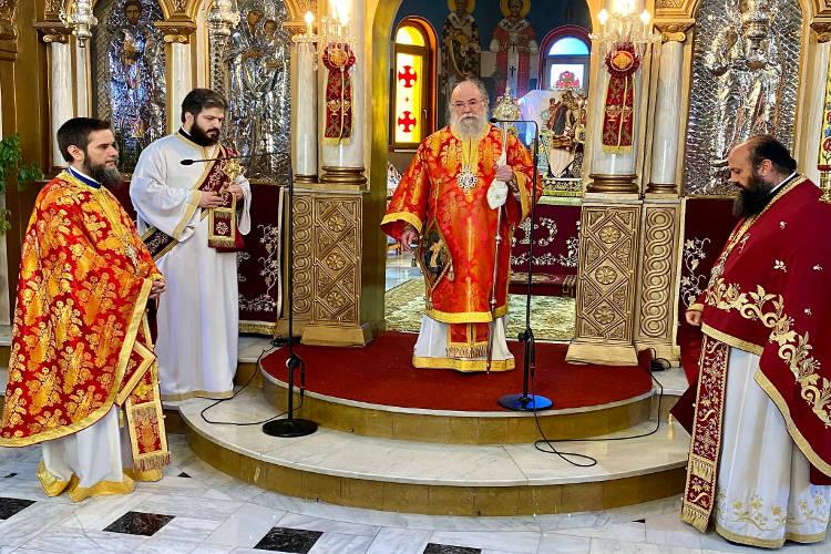 Τρισάγιο για τον Αρχιεπίσκοπο Χριστόδουλο και τον Μητροπολίτη Αυγουστίνο Καντιώτη