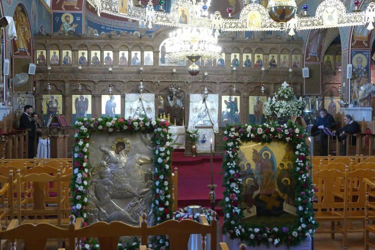 Η Εορτή του Αγίου Γεωργίου στη Μητρόπολη Κωνσταντίας