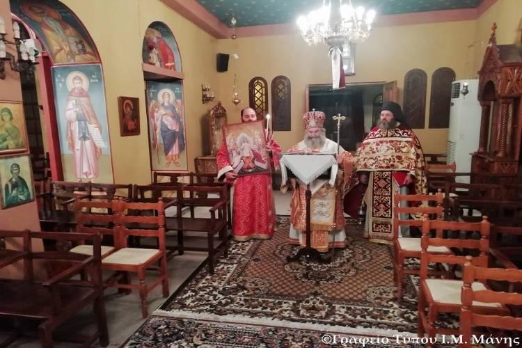 Το «ΧΡΙΣΤΟΣ ΑΝΕΣΤΗ» στο Επισκοπείο Μάνης