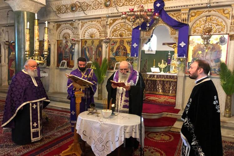 Το Ιερό Ευχέλαιο της Μεγάλης Τετάρτης στη Νάξο