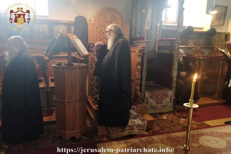 ακολουθία Μεγάλου Κανόνος στο Πατριαρχείο Ιεροσολύμων