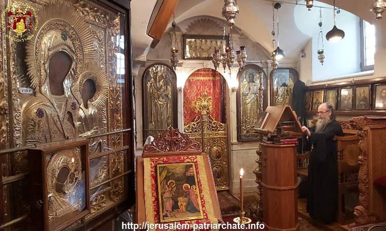 Η Εορτή του Ευαγγελισμού της Θεοτόκου στο Πατριαρχείο Ιεροσολύμων