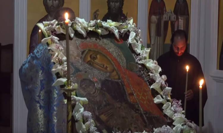 Αγρυπνία Ακαθίστου Ύμνου στο Παρεκκλήσιο Αγίου Νικηφόρου του Λεπρού Περιστερώνας (ΒΙΝΤΕΟ)