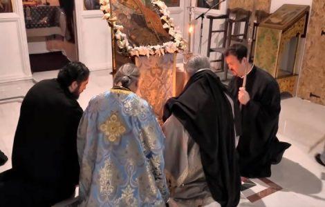 Κανών στην Αγία Τριάδα εις Απειλήν Λοιμικής Νόσου (ΒΙΝΤΕΟ)