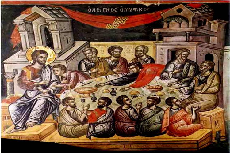 Live τώρα: Η Ακολουθία του Νιπτήρος από το Μετόχι της Μονής Κύκκου Κώου Ναθαναήλ: Ακολουθούμε το παράδειγμα του Χριστού;