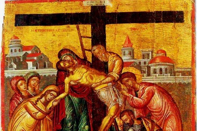 Live τώρα: Η Αποκαθήλωση του Κυρίου