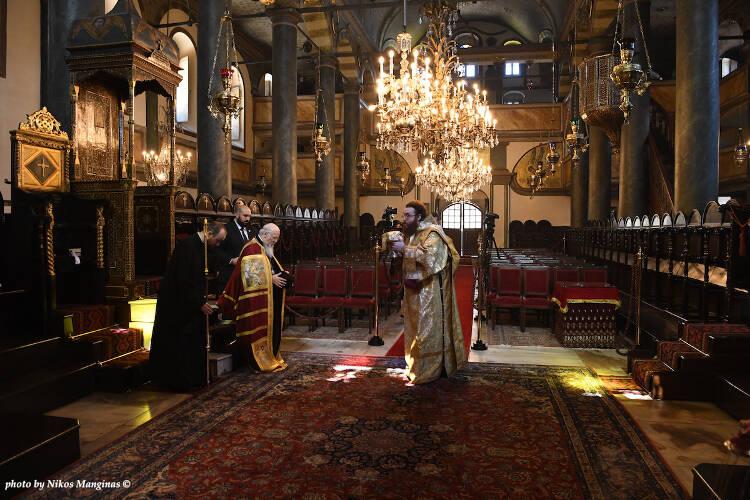 Η Κυριακή των Βαΐων στο Οικουμενικό Πατριαρχείο (ΦΩΤΟ)