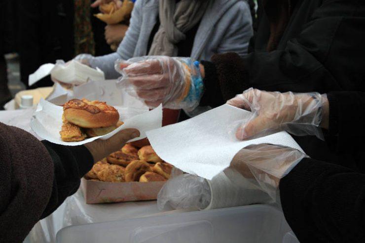 Αύξηση των ατόμων που ζητούν φαγητό στο συσσίτιο της Ευαγγελίστριας Ναυπλίου