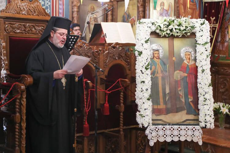 Εορτή Αγίων Κωνσταντίνου και Ελένης στη Λευκωσία (ΦΩΤΟ)