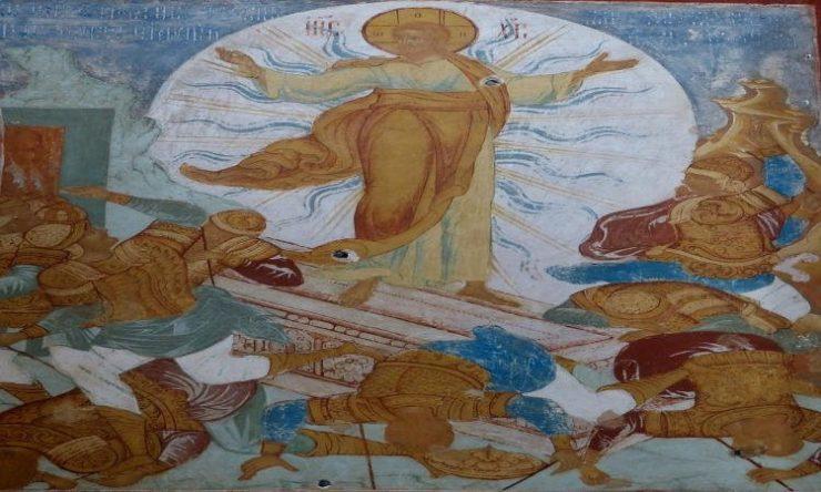 Πανηγυρικός εορτασμός της Αποδόσεως του Πάσχα στη Σάμο Αγρυπνία Αποδόσεως του Πάσχα στη Νέα Ιωνία