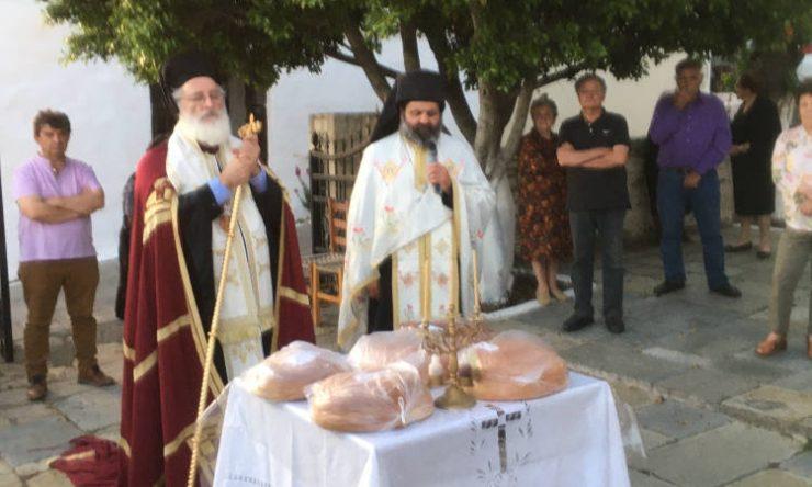 Εορτή Αγίου Ισιδώρου του εν Χίω στη Μητρόπολη Αρκαλοχωρίου