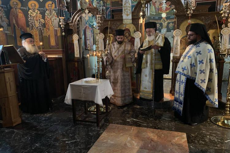 Τρισάγιο για τη μακαριστή Μοναχή Άννα στο Ησυχαστήριο Άξιον Εστί Ιεράπετρας
