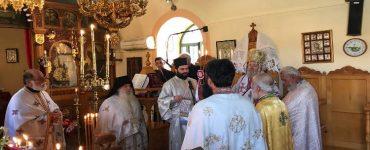 Εορτή Αγίων Κωνσταντίνου και Ελένης στην Μητρόπολη Κυδωνίας