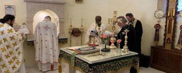 Θεία Λειτουργία στον Όσιο Νικηφόρο τον Λεπρό
