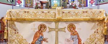 Εορτή Αγίων Κωνσταντίνου και Ελένης στη Μητρόπολη Λαγκαδά (ΦΩΤΟ)