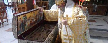 Άνοιγμα Λάρνακος των Λειψάνων του Αγίου Αχιλλίου στη Λάρισα