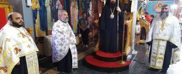 Εορτή Αγίων Κωνσταντίνου και Ελένης στη Μητρόπολη Πέτρας