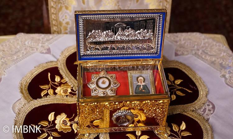 Εορτή Οσίας Ματρώνας εκ Ρωσίας στη Μονή Παναγίας Δοβρά (ΦΩΤΟ)