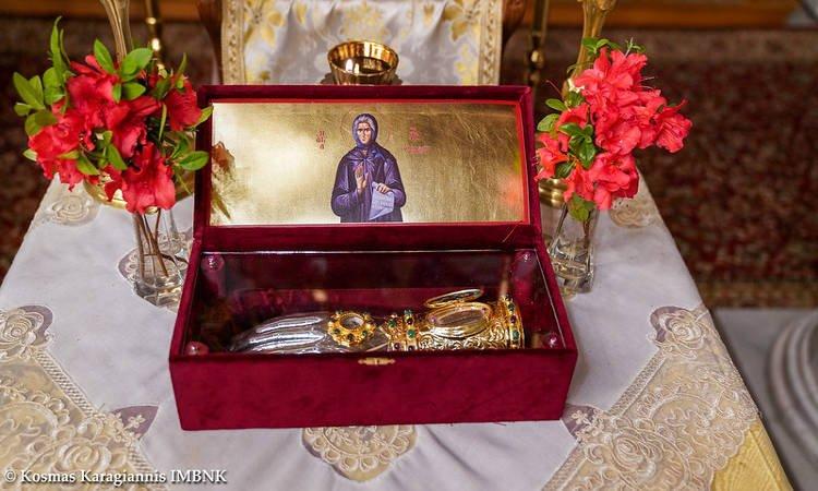 Αγρυπνία Οσίας Σοφίας της Κλεισούρας στη Μονή Παναγίας Δοβρά (ΦΩΤΟ)