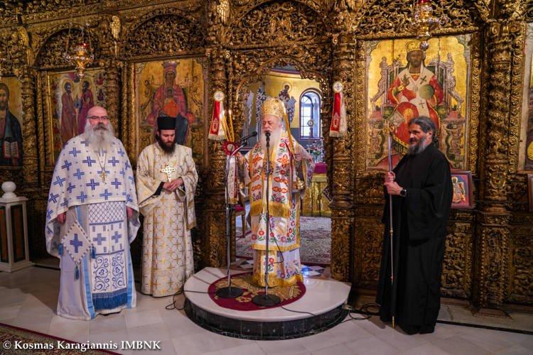 Κυριακή του Παραλύτου στον Μητροπολιτικό Ναό Βεροίας (ΦΩΤΟ)