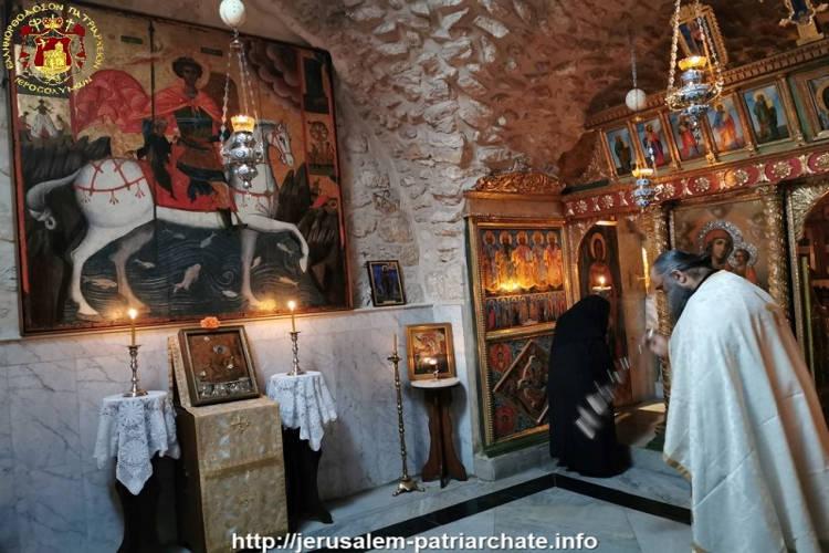Η Εορτή του Αγίου Μεγαλομάρτυρος Γεωργίου στο Πατριαρχείο Ιεροσολύμων