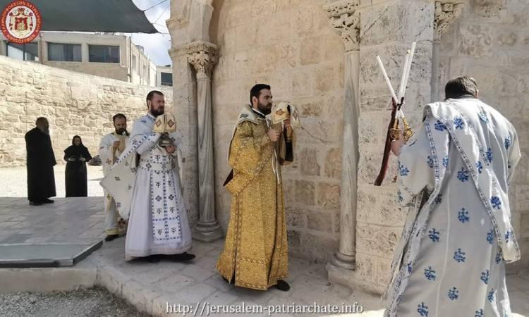 Η Εορτή της Αναλήψεως του Κυρίου στο Πατριαρχείο Ιεροσολύμων
