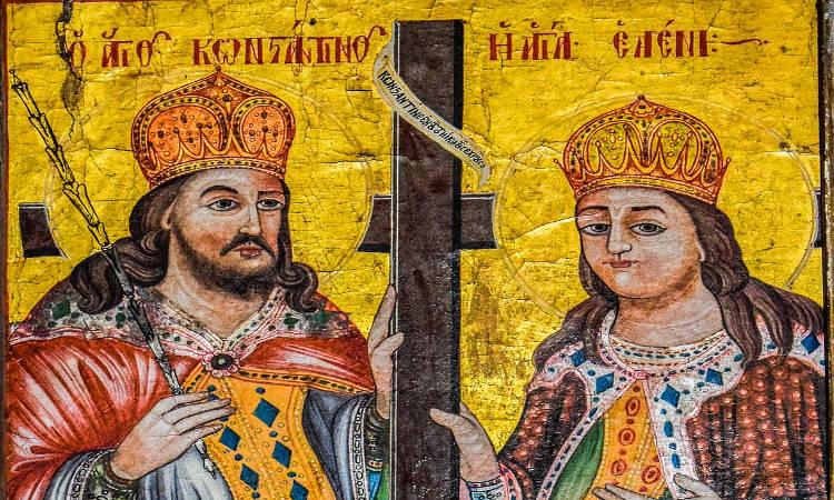 Ιερά Πανήγυρις Αγίων Κωνσταντίνου και Ελένης Κάτω Αχαρνών