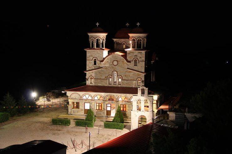 Ανακοίνωση για Ιερά Μονή Κοιμήσεως Θεοτόκου Κουτσουριωτίσσης