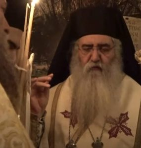 Αγρυπνία Αναλήψεως στον Όσιο Σεραφείμ του Σαρώφ της Μόρφου (ΒΙΝΤΕΟ)