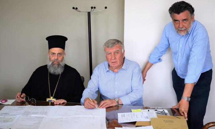 Τακτοποιήθηκε το ζήτημα της κυριότητας του Ιερού Προσκυνήματος του Αγίου Νικολάου του εν Βουναίνη