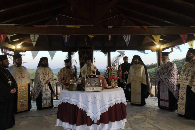 Λαμπρά εορτάστηκε ο Άγιος Νικόλαος ο εν Βουναίνης στο ομώνυμο Ιερό Προσκύνημα