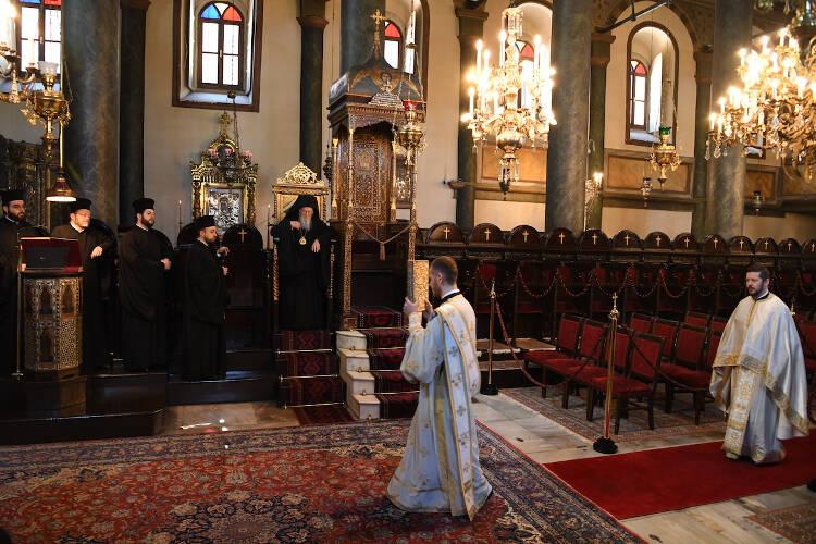 Κυριακή του Παραλύτου στο Οικουμενικό Πατριαρχείο (ΦΩΤΟ)