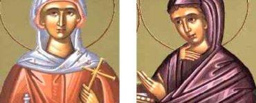 Αγρυπνία Αγίων Μάρθας και Μαρίας αδελφών του Λαζάρου στο Δίλοφο Βάρης