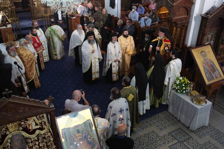 Εορτή του Πολιούχου της Λευκωσίας Αγίου Τριφυλλίου