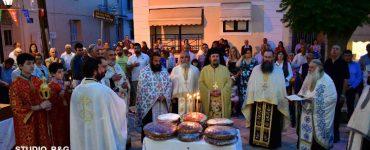 Η εορτή της Αγίας Τριάδος στην Πρόνοια Ναυπλίου