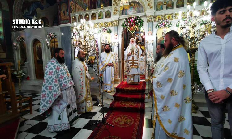Εορτή του Αγίου Πνεύματος στη Μητρόπολη Αργολίδος (ΦΩΤΟ)