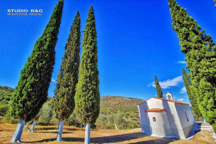 Το πανέμορφο Εκκλησάκι της Αγίας Μαρίνας στο Ναύπλιο (ΦΩΤΟ)