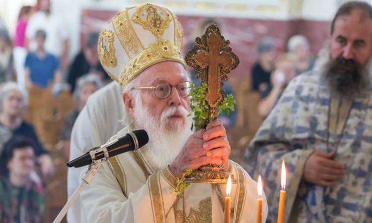 Περιπέτεια της υγείας του Αρχιεπισκόπου Αλβανίας Αναστασίου