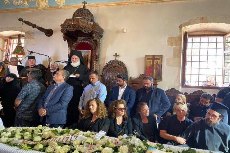 Η Εξόδιος Ακολουθία Θεοχάρη Λιονάκη, πατρός του Επισκόπου Δορυλαίου