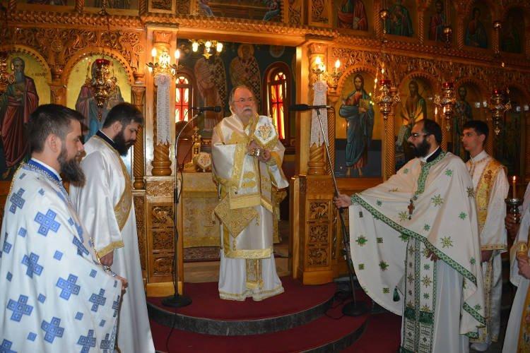 Κυριακή Αγίων Θεοφόρων Πατέρων στη Μητρόπολη Ελευθερουπόλεως