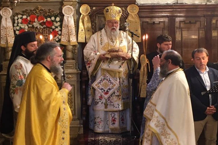 Κερκύρας Νεκτάριος: Να μιμηθούμε τους Αγίους ομολογώντας Χριστό