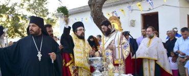 Θυρανοίξια Ιστορικού παρεκκλησίου Αγίου Ονουφρίου στο Ακρωτήρι Χανίων