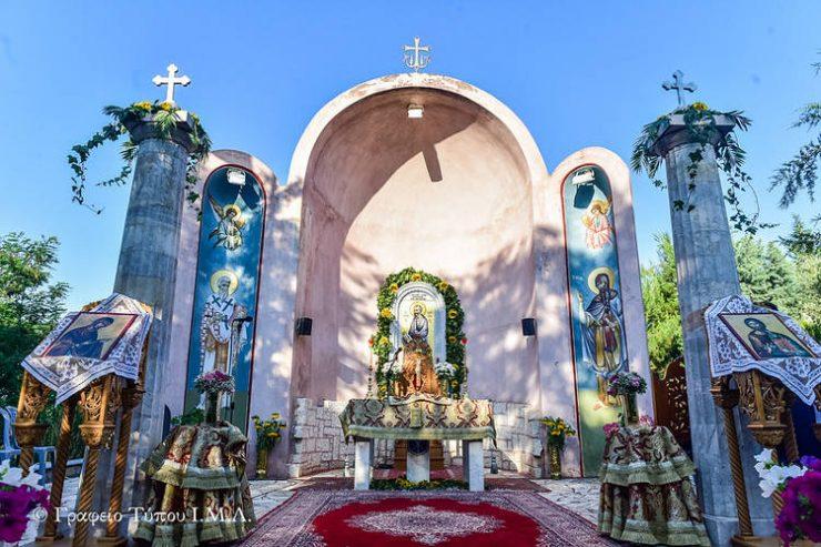 Μεθέορτος Πανηγυρικός Αρχιερατικός Εσπερινός στο Προσκύνημα Αποστόλου Παύλου στο Δερβένι (ΦΩΤΟ)